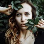 写真美女头像人体艺术摄影