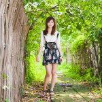 日本小清新美女人体艺术摄影