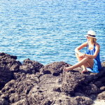 海边性感女神美女写真人体艺术摄影