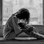 女生落寞伤感人体艺术摄影