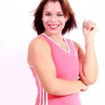 健身达人女人体艺术摄影