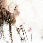 创意美女头像人体艺术摄影