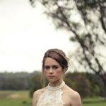 骨感婚纱美女人体艺术摄影
