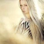 治愈系欧美女生人体艺术摄影