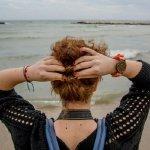 面朝大海背影人体艺术摄影