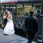 搞怪新娘人体艺术摄影