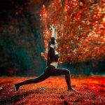 塑身瑜伽人体艺术摄影
