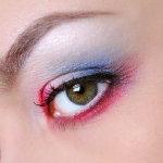 大眼妆人体艺术摄影