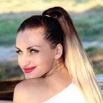 高马尾发型人体艺术摄影