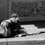 乞丐人体艺术摄影