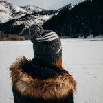 雪地美女人体艺术摄影