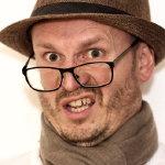 眼镜成熟男人人体艺术摄影