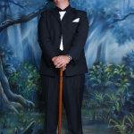 黑色西装绅士帅哥人体艺术摄影
