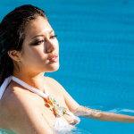 美女出浴人体艺术摄影