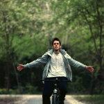 单车骑行帅哥人体艺术摄影