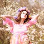 春天美女人体艺术摄影