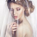 新娘经典发型人体艺术摄影