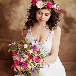 白色唯美婚纱人体艺术摄影