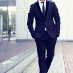 成功帅哥商务人体艺术摄影