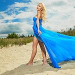 沙滩美女写真人体艺术摄影
