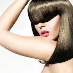 平刘海发型人体艺术摄影