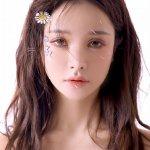 梦幻清纯美女粉嫩吊带透视装娇艳火辣人体艺术写真图片