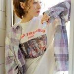 文艺时尚氧气美女杂志嫩模个性艺术照清纯图片
