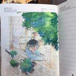 关维兴为《城南旧事》绘制的插画,画的也太传神了