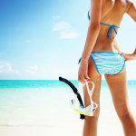 沙滩比基尼美女人艺体图片大胆摄影