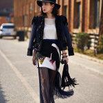 熊乃瑾时尚街拍高清写真