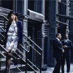 唐嫣纽约时尚街拍高清写真