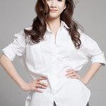 徐立纯白衬衫清新时尚高清写真