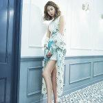 韩国女歌手金艺琳最新写真秀大长腿图