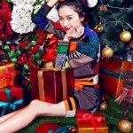 阚清子新年写真大片演绎甜美少女范