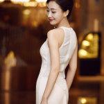 内地女演员肖涵帅气短发个性写真