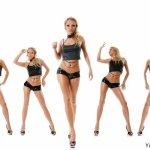 美女组合大胆人体艺术图片