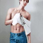 20cm大陆大雕腹肌小鲜肉,北京18岁男模大j图片